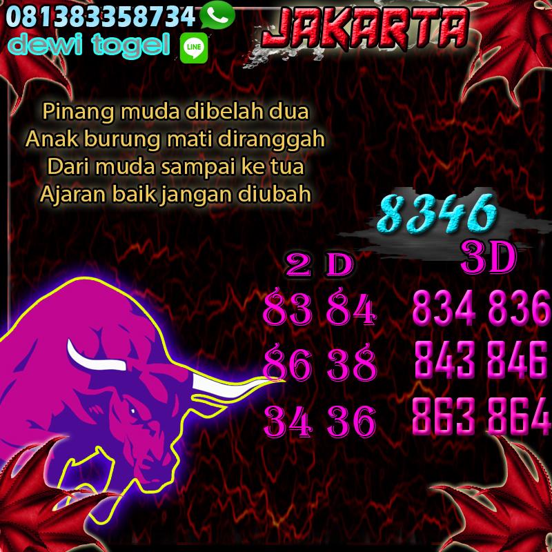 PREDIKSI JITU JAKARTA (JKT) 19 AGUSTUS 2020